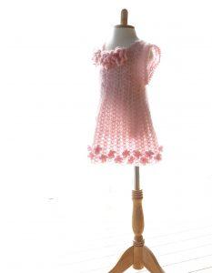 子供服、かぎ針編み